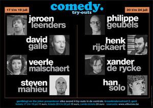 Comedy Tryouts Gentse Feesten 2010